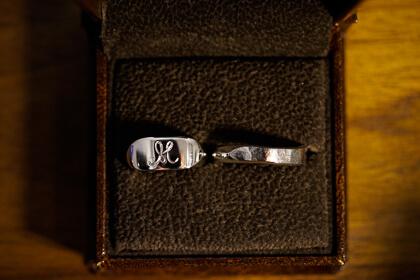 【Semi-custom made】dakon-dakon+engraved ring(Sv925)&yugami+dakon ring(Sv925)thumbnail