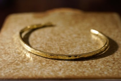 "【Regular item】""Tsuchime"" Bangle(Brass)_thumbnail"