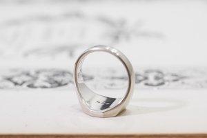 【Semi-custom made】Pair Octagon Signet Ring(9ct Yellow Gold&Sv925)_6