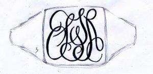 「SSSR」手彫りデザイン案