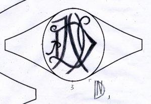 モノグラムデザイン
