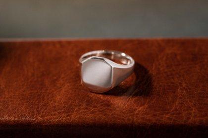 【Regular item】Octagon Signet Ring_thumbnail